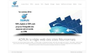 réalisation site réunion Adrun 2015