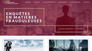 Réalisation site internet Réunion ARP Crédit management