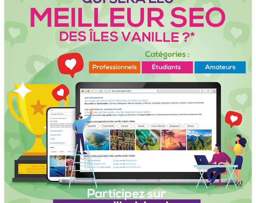 Affiche du concours seo des iles vanille